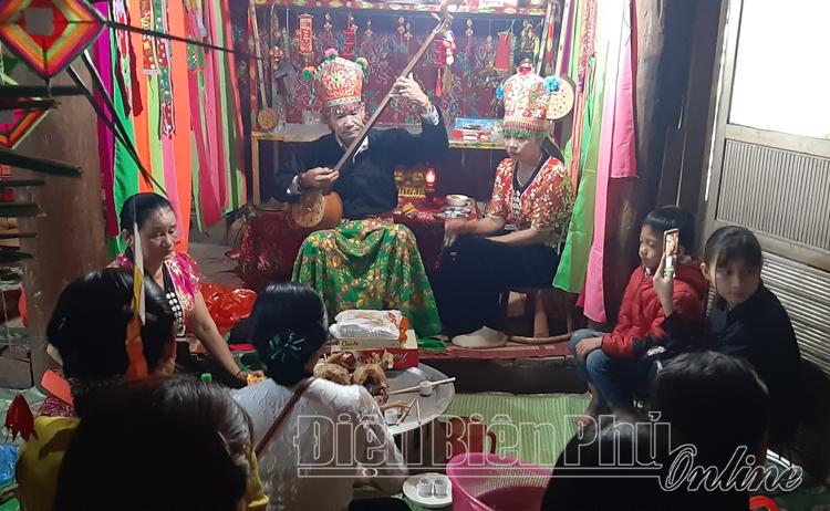 Giá trị văn hóa đặc sắc trong lễ Kin Pang Then