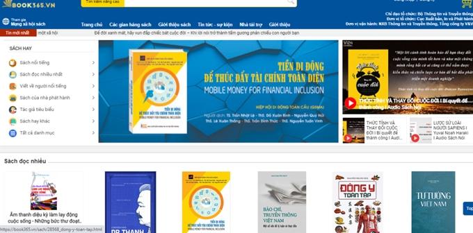 Hội sách trực tuyến quốc gia chào mừng Ngày sách Việt Nam