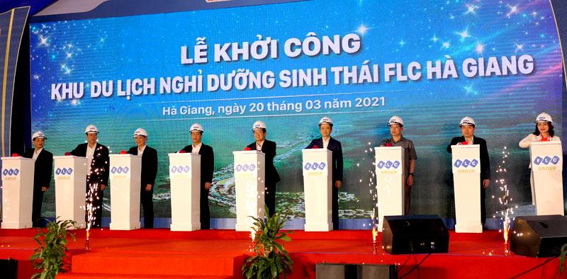 Khởi công khu du lịch nghỉ dưỡng sinh thái tại Hà Giang