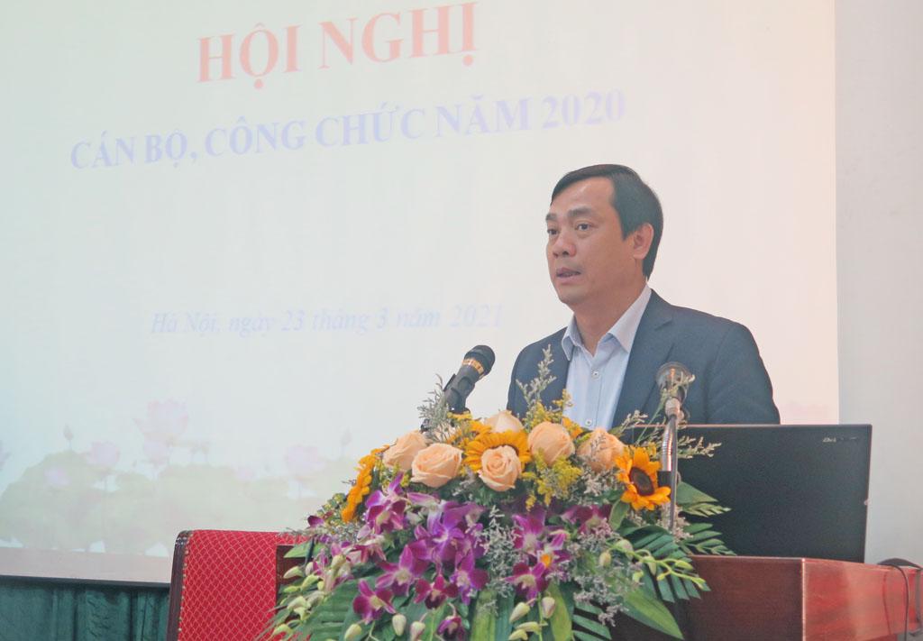 Tổng cục Du lịch tổ chức Hội nghị cán bộ, công chức năm 2020