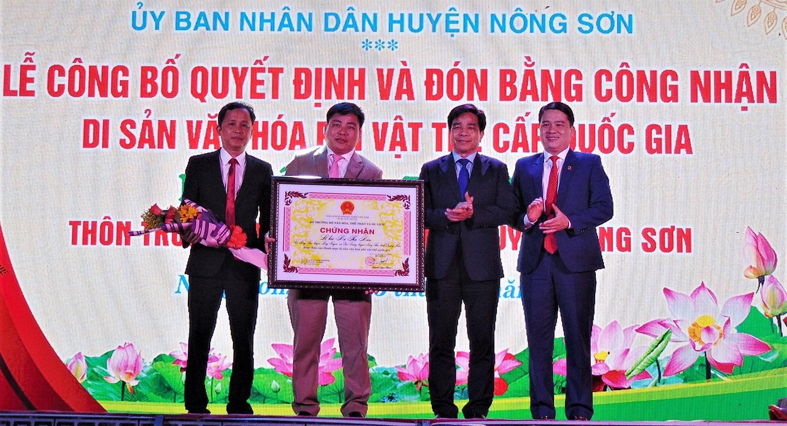 Lễ hội Bà Thu Bồn được công nhận Di sản văn hóa phi vật thể cấp quốc gia