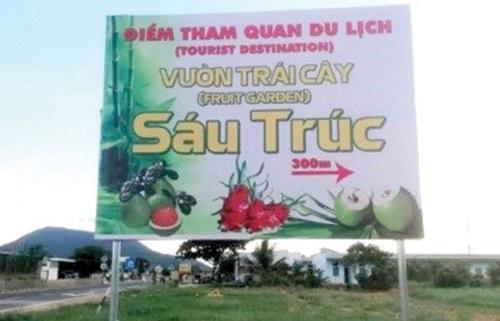Dân dã với du lịch vườn sinh thái Sáu Trúc, Bình Thuận