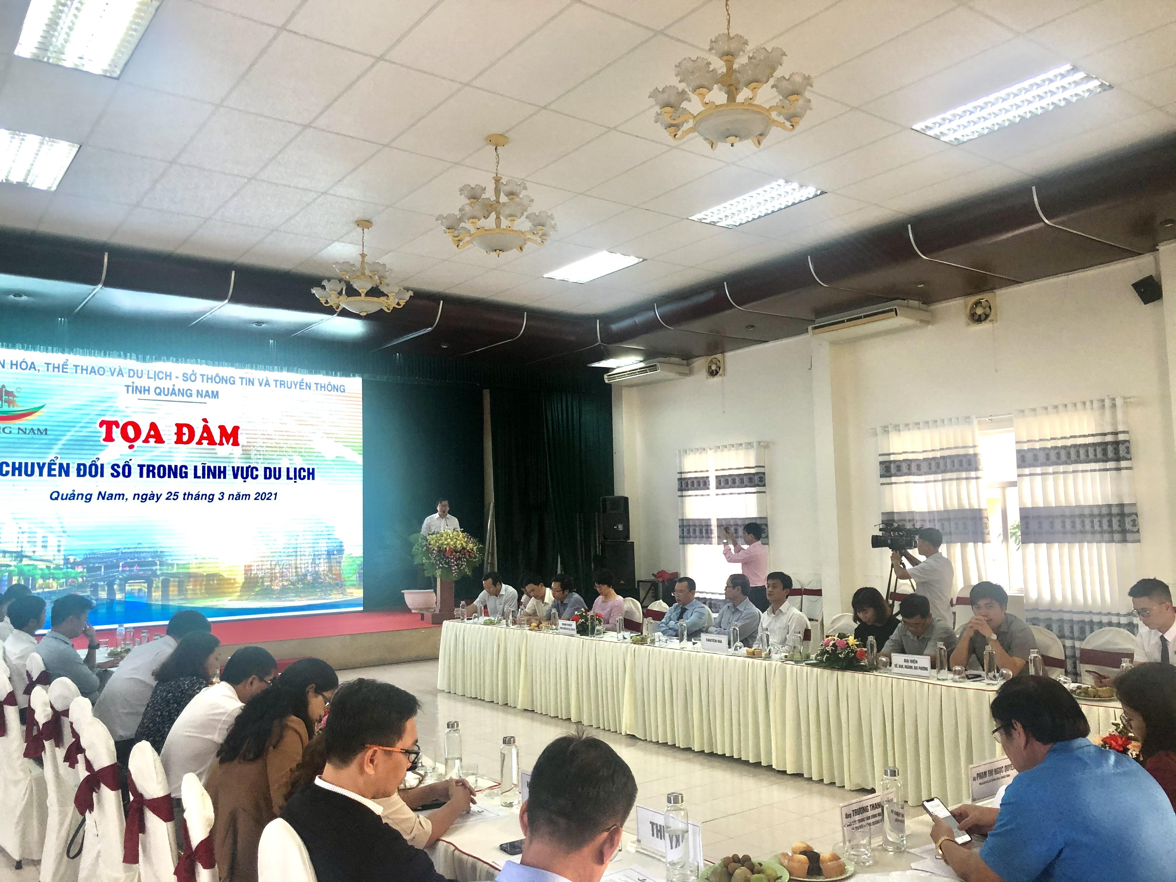 Quảng Nam: Tọa đàm Chuyển đổi số trong lĩnh vực du lịch