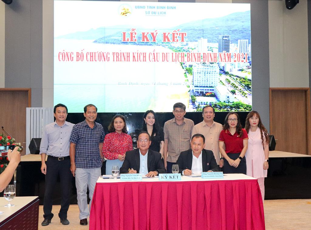 Hội nghị công bố Chương trình kích cầu du lịch Bình Định năm 2021