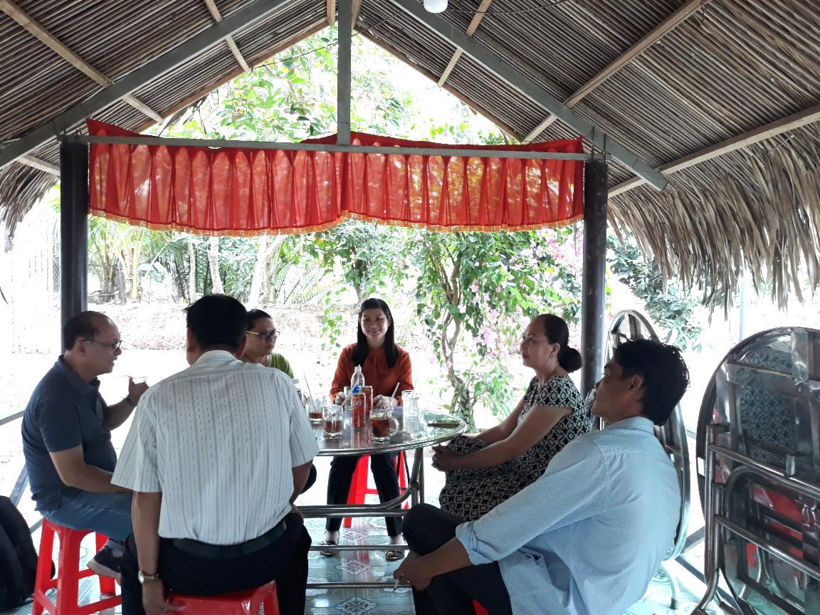 Vĩnh Long: Khảo sát các điểm du lịch sinh thái và làng nghề bánh tráng cù lao Mây