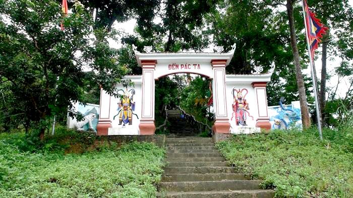 Linh thiêng đền Pác Tạ, Tuyên Quang