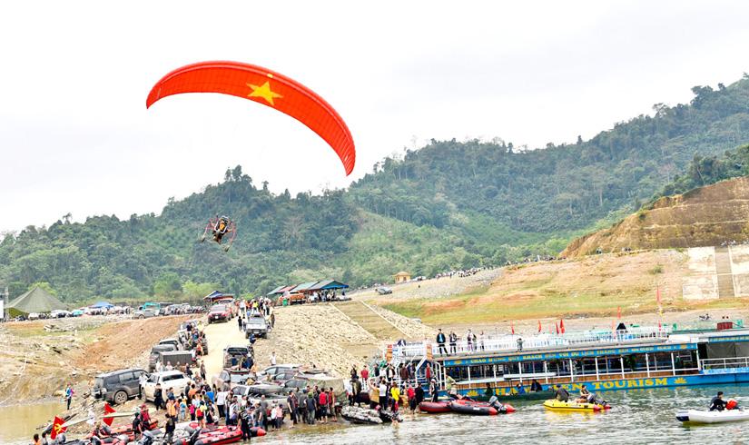 Na Hang (Tuyên Quang) khởi động mùa du lịch