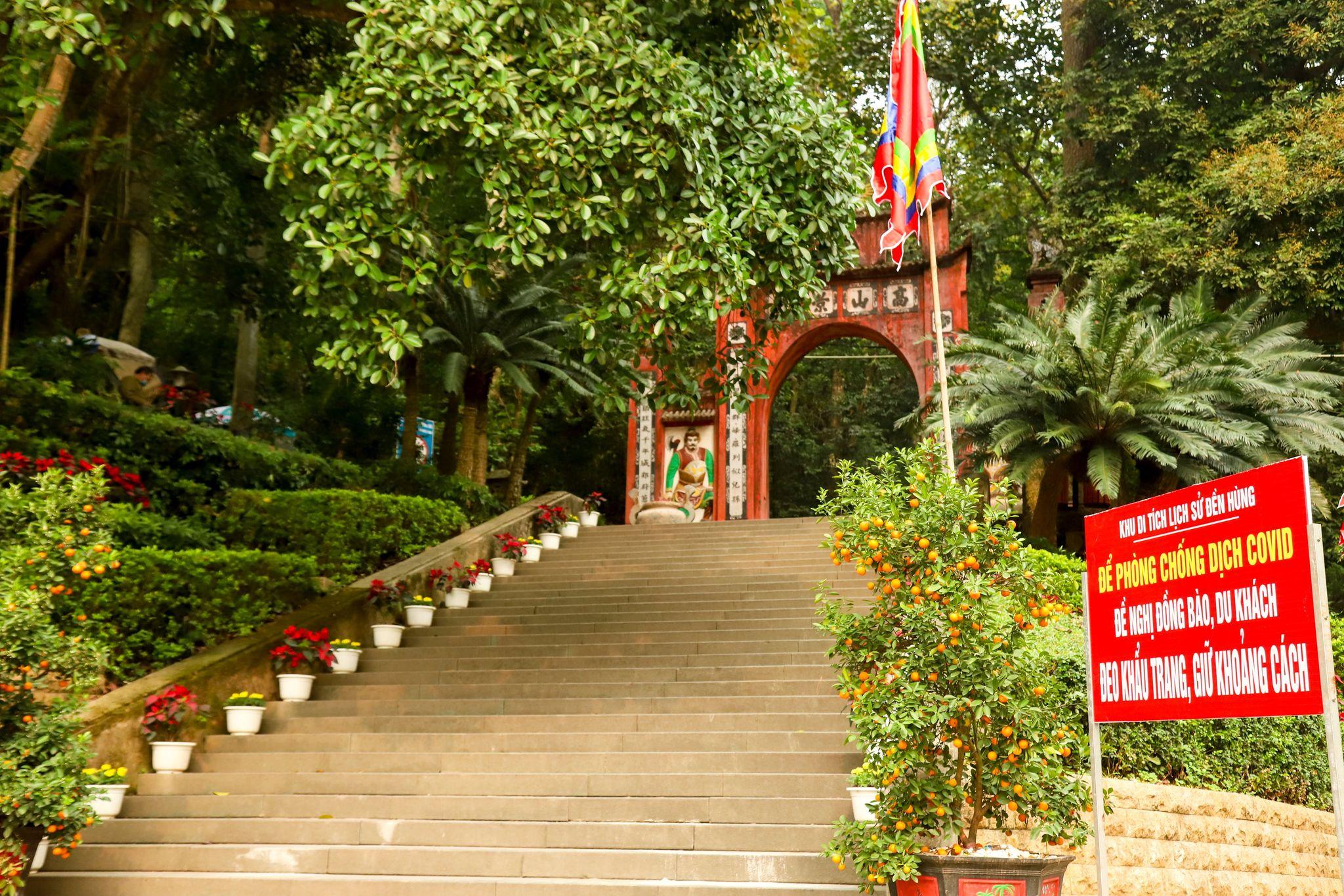 Khu Di tích lịch sử Đền Hùng tích cực chuẩn bị cho Giỗ Tổ Hùng Vương năm Tân Sửu – 2021