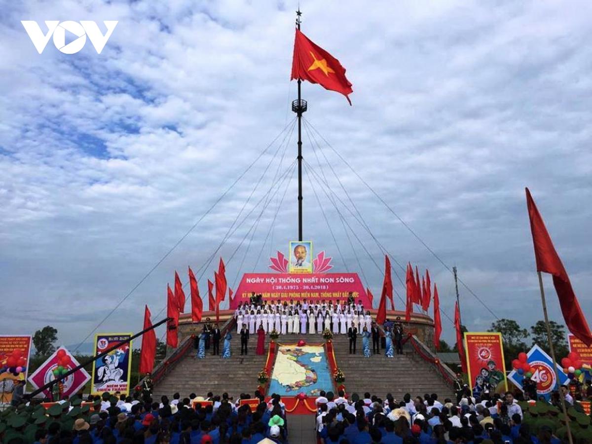"""Khai trương du lịch biển Quảng Trị trong lễ hội """"Thống nhất non sông"""""""