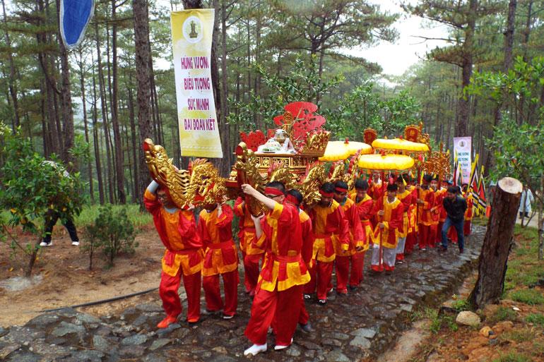 Lâm Đồng: Lễ hội Giỗ tổ Hùng Vương sẽ diễn ra trọng thể tại Đền thờ Âu Lạc