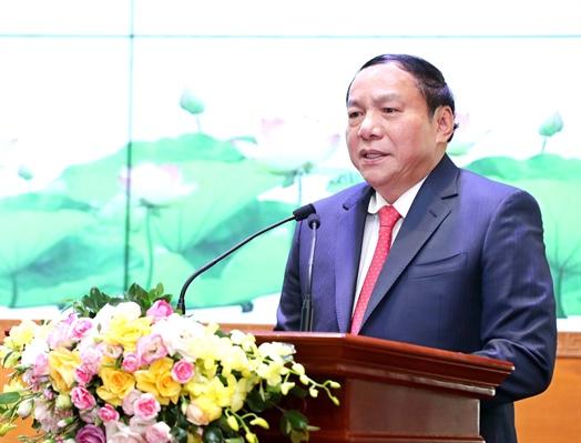 Bàn giao nhiệm vụ Bộ trưởng Bộ Văn hoá, Thể thao và Du lịch