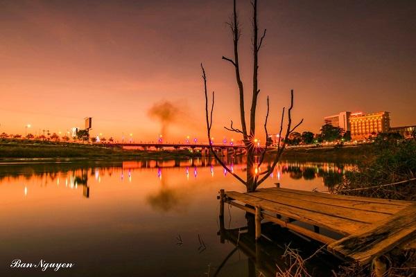 Sông Đăk Bla-Dải lụa óng ả giữa lòng Kon Tum