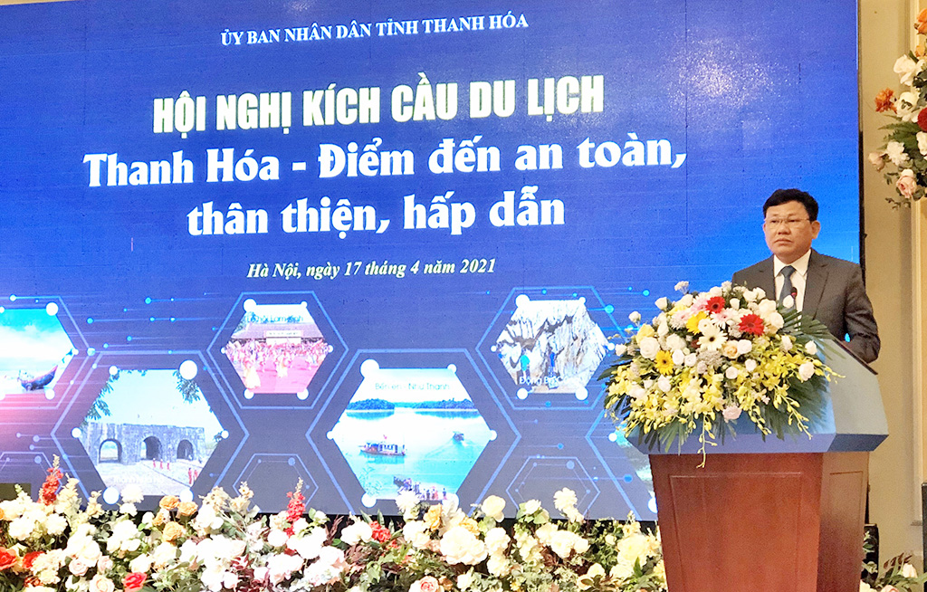 Phó Tổng cục trưởng Nguyễn Thị Thanh Hương: Thanh Hóa cần khai thác các sản phẩm du lịch sáng tạo, tăng thời gian lưu trú và chi tiêu của khách