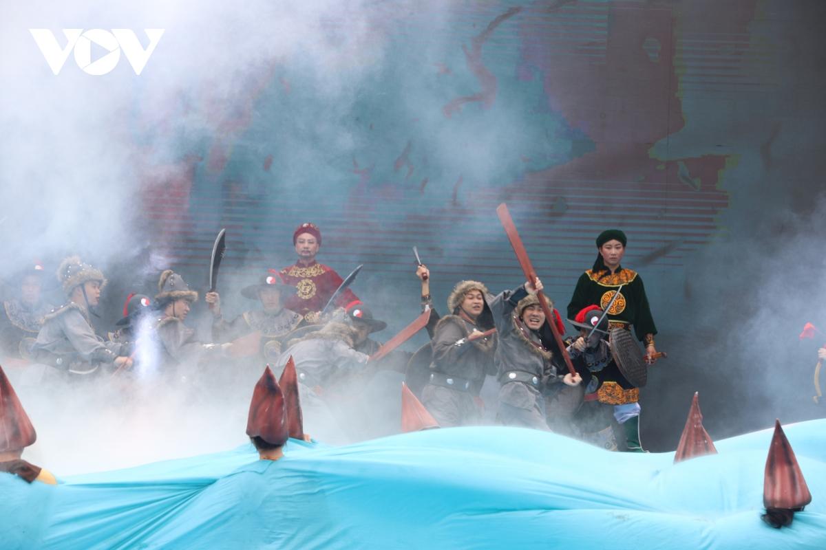 Khai mạc Lễ hội truyền thống Bạch Đằng năm 2021