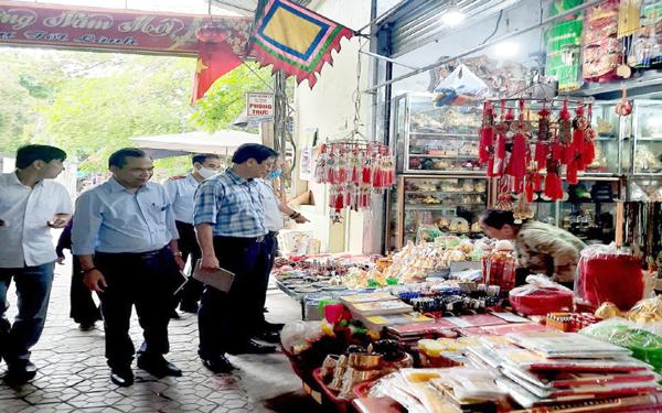 Kiểm tra hoạt động các khu, điểm du lịch trên địa bàn tỉnh Hà Tĩnh năm 2021