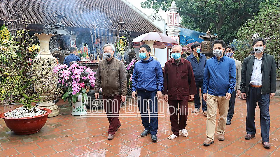 Quản lý di tích lịch sử - văn hóa tại Nam Định: Còn nhiều trăn trở