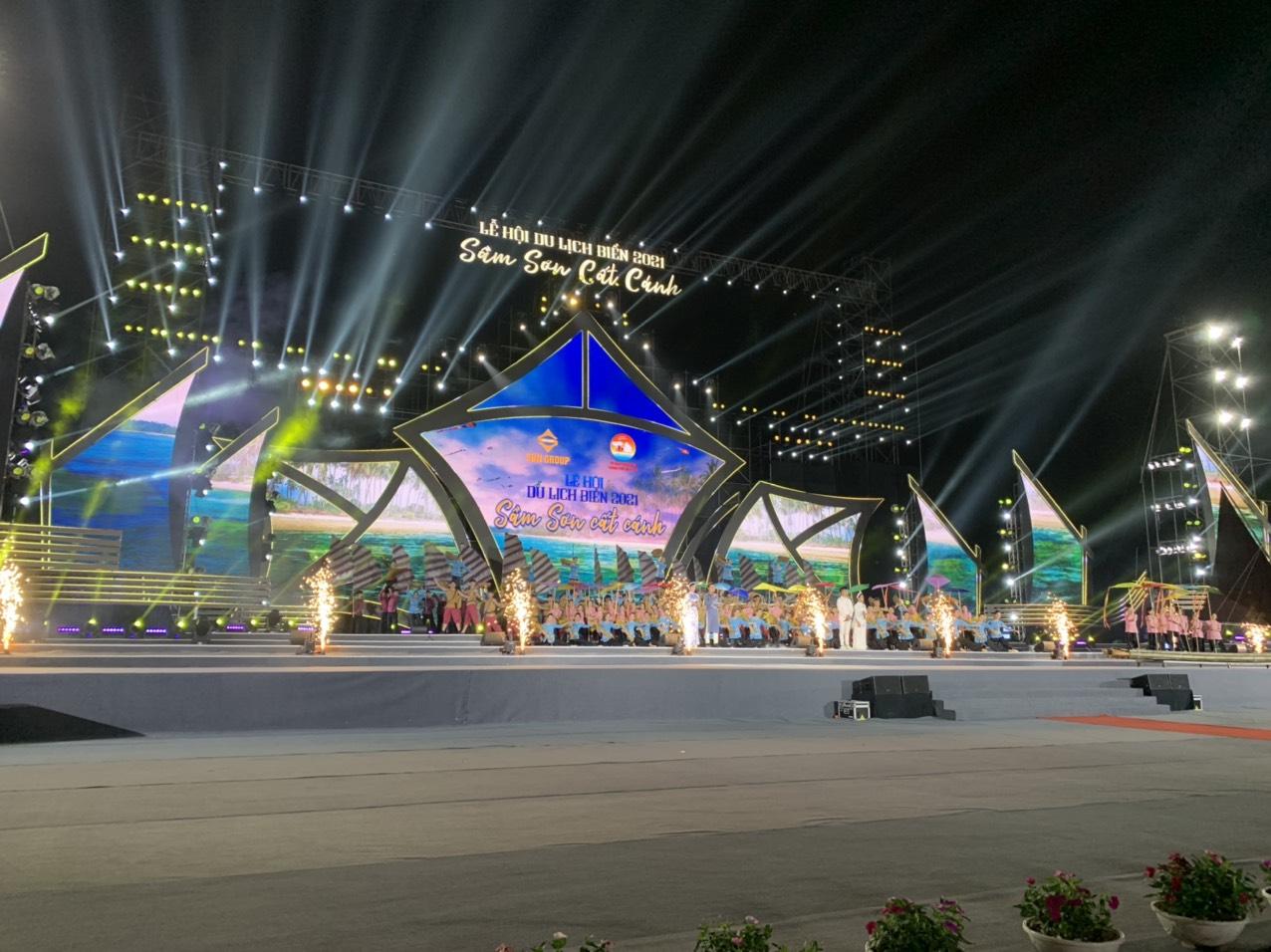 Thanh Hóa mở màn mùa du lịch hè với Lễ hội du lịch biển Sầm Sơn 2021