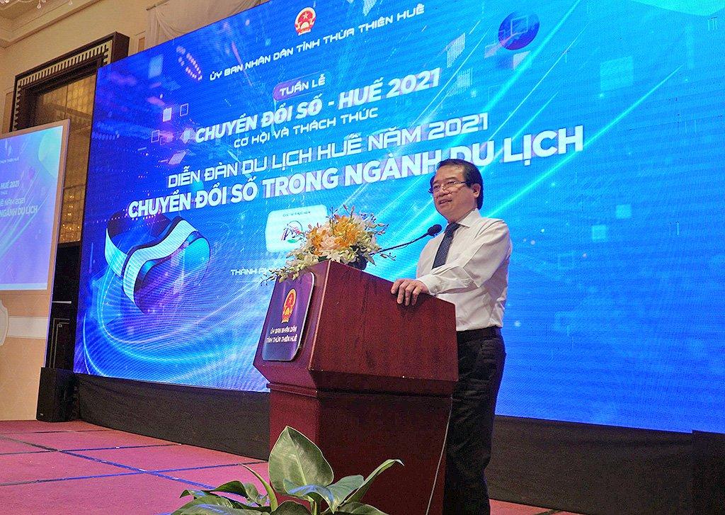 Phó Tổng cục trưởng Hà Văn Siêu: Tổng cục Du lịch đang tập trung xây dựng hệ sinh thái du lịch thông minh, hỗ trợ các địa phương chuyển đổi số trong du lịch