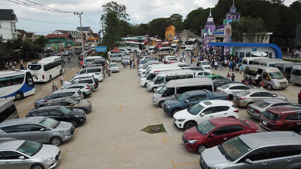 Đà Lạt thu hút trên 145.000 lượt khách du lịch dịp nghỉ lễ