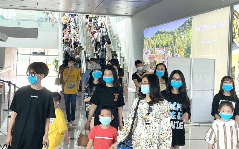 Du khách đến Phú Quốc tăng cao trong những ngày nghỉ lễ