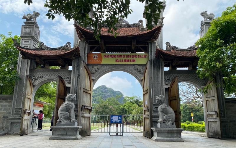 Các điểm du lịch nổi tiếng ở Ninh Bình tạm dừng đón khách
