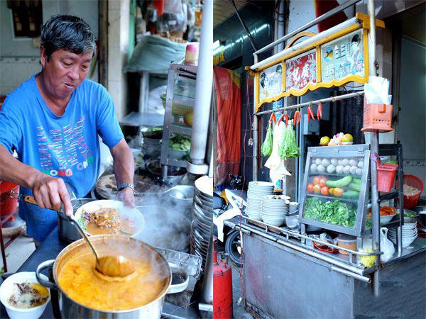 Hủ tiếu sa tế - món ngon nức tiếng ở Chợ Lớn (TP. Hồ Chí Minh)