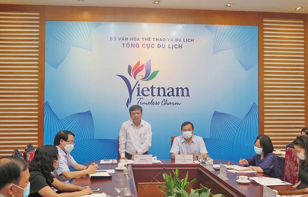 Thứ trưởng Đoàn Văn Việt: Tiếp tục tăng cường công tác quản lý nhà nước, liên kết phát triển và đẩy mạnh chuyển đổi số trong lĩnh vực du lịch