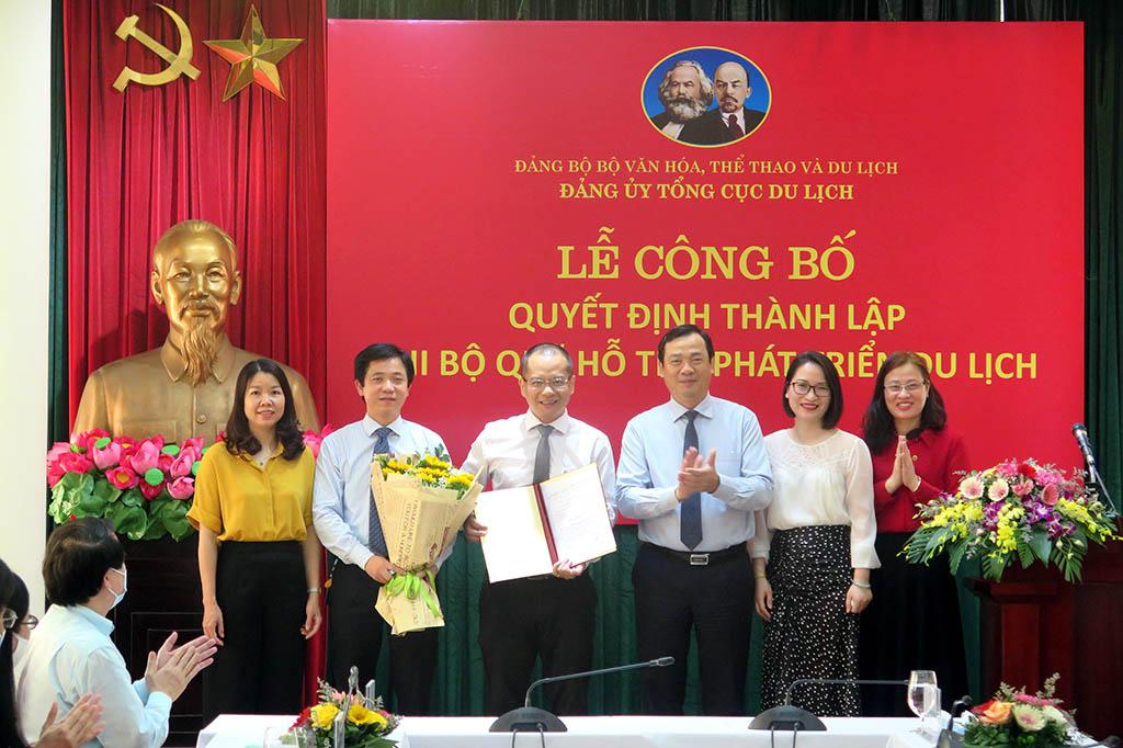 Thành lập Chi bộ Quỹ hỗ trợ phát triển du lịch trực thuộc Đảng bộ Tổng cục Du lịch