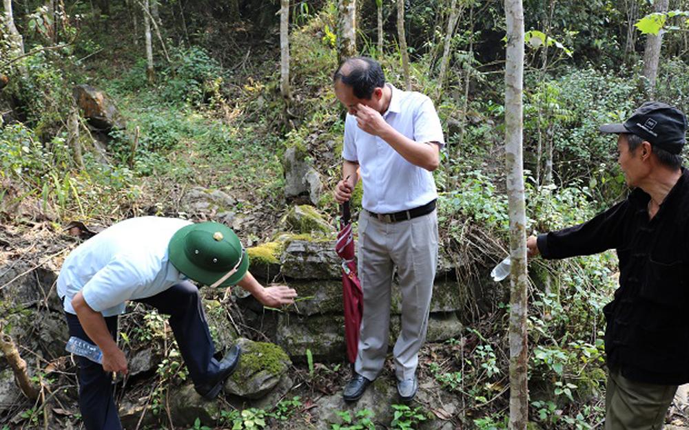 Thông tin về Di tích phế tích thành cổ Lùng Thẩn ở Si Ma Cai