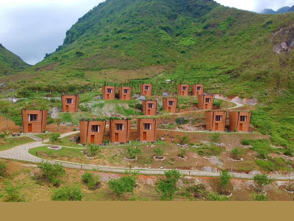 Hà Giang: Khu nghỉ dưỡng với những ngôi nhà hình quẩy tấu ở Quản Bạ xác lập kỷ lục Việt Nam