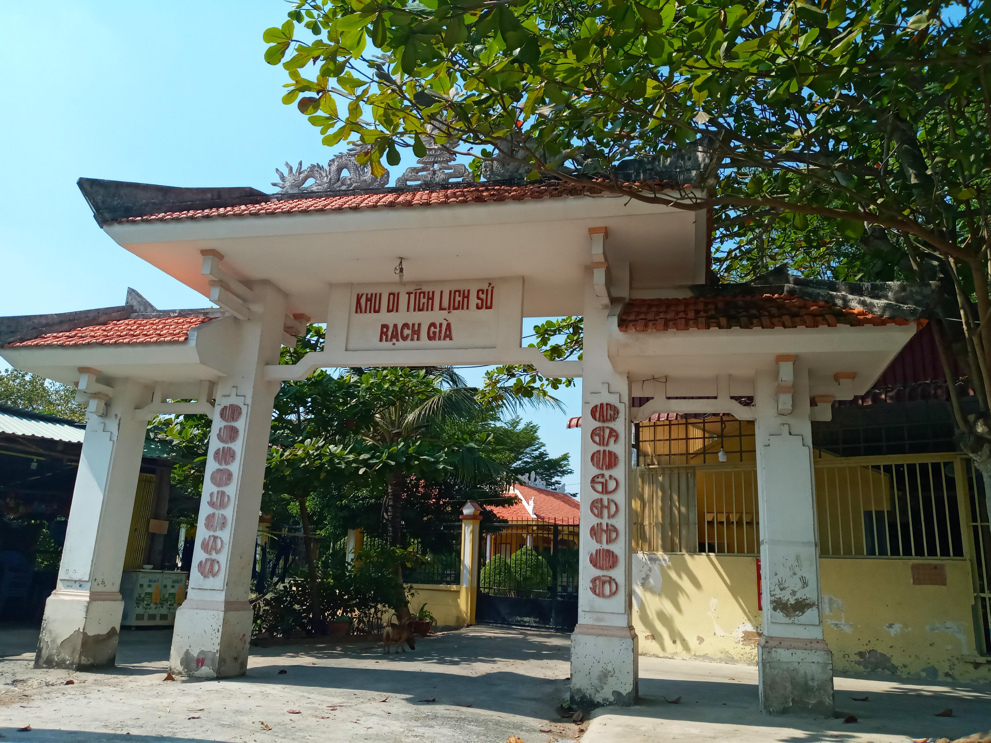 Thăm Di tích lịch sử đền Rạch Già ở huyện Bình Chánh - Hồ Chí Minh