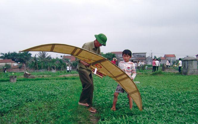 Làng Bá Dương Nội (Hà Nội) lưu giữ thú chơi diều truyền thống