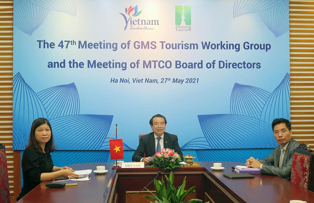 Phó Tổng cục trưởng Hà Văn Siêu dự phiên họp nhóm công tác du lịch GMS lần thứ 47