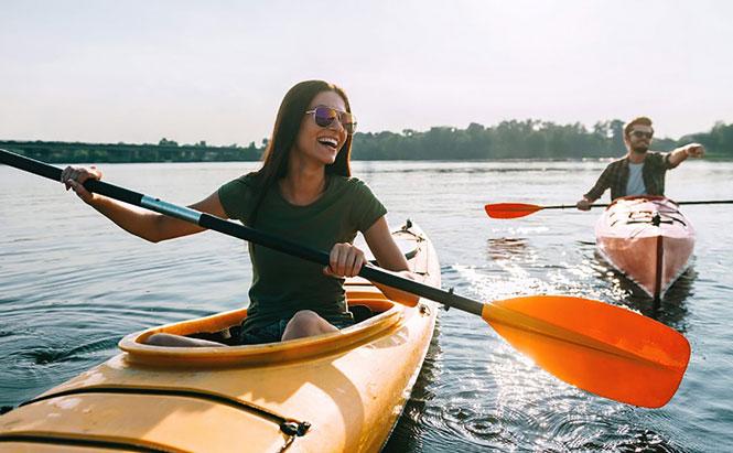 Tư vấn du lịch: Những lưu ý khi chèo kayak