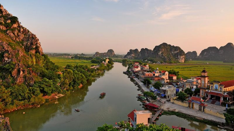 Ninh Bình: Phê duyệt nhiệm vụ Quy hoạch phân khu xây dựng khu du lịch Kênh Gà - Vân Trình đến năm 2030, tầm nhìn đến năm 2050