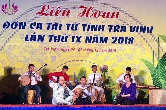 Trà Vinh giữ gìn và phát huy nghệ thuật Đờn ca tài tử Nam Bộ