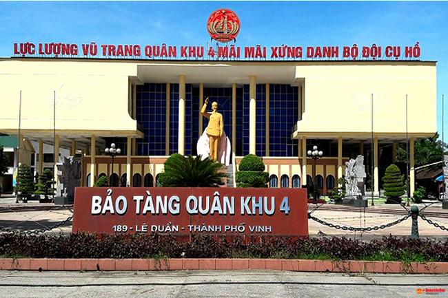 """Nghệ An: Công nhận Điểm du lịch """"Bảo tàng Quân khu 4"""""""