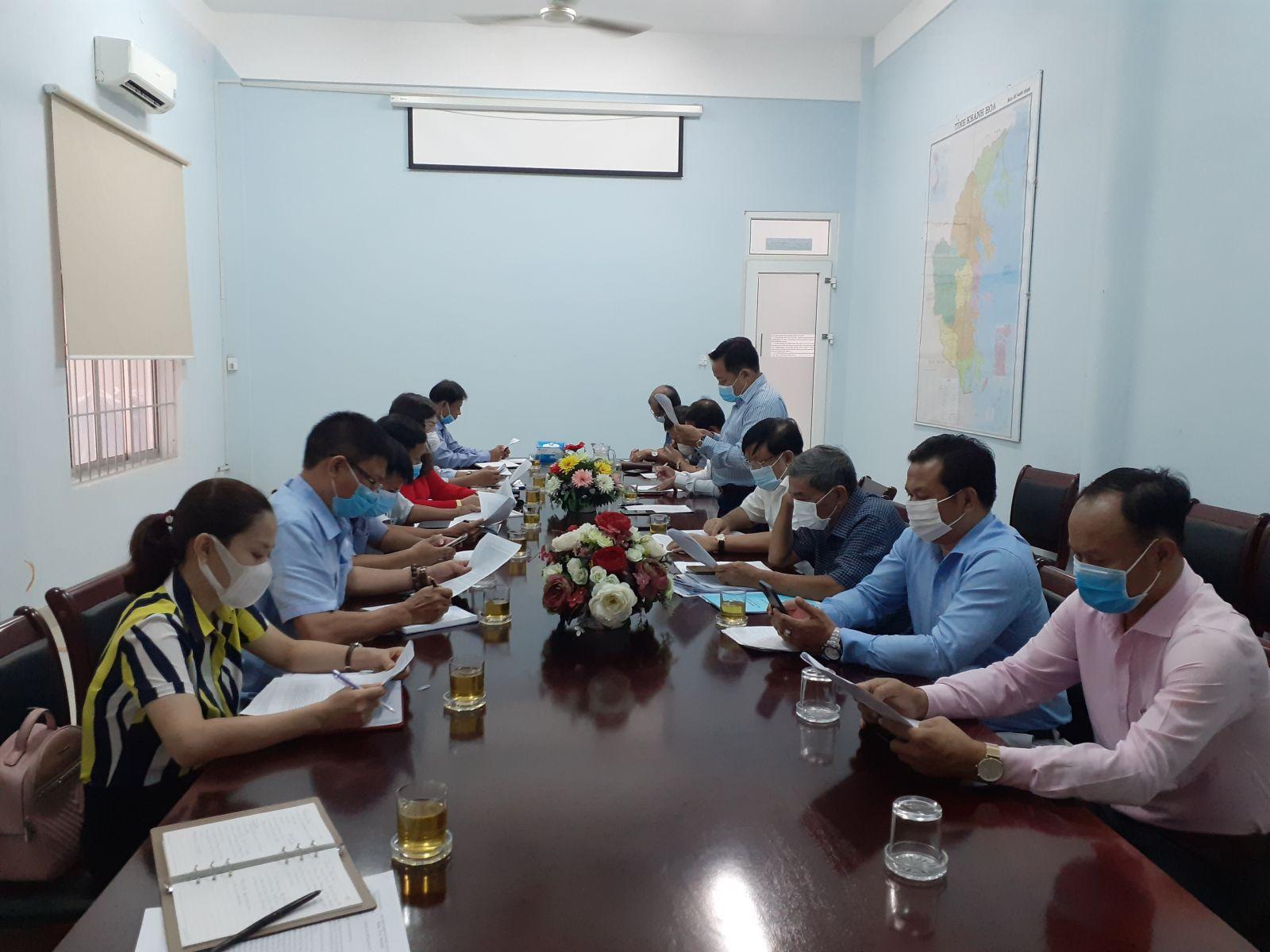 Sở Du lịch Khánh Hòa làm việc với Hiệp hội Du lịch Nha Trang - Khánh Hòa