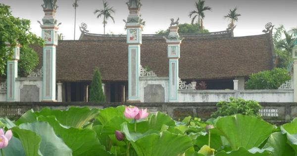 Bộ VHTTDL cho ý kiến Dự án tu bổ, tôn tạo di tích đình Viên Châu, huyện Ba Vì, TP. Hà Nội