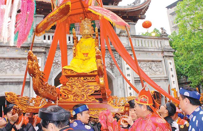 Hà Nội: Lễ hội Năm làng Mọc - Nét đẹp làng quê giữa chốn đô thành