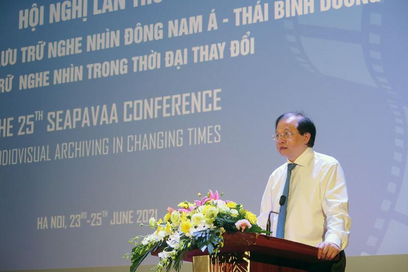 Khai mạc Hội nghị các Viện Lưu trữ Nghe nhìn Đông Nam Á - Thái Bình Dương (SEAPAVAA) lần thứ 25