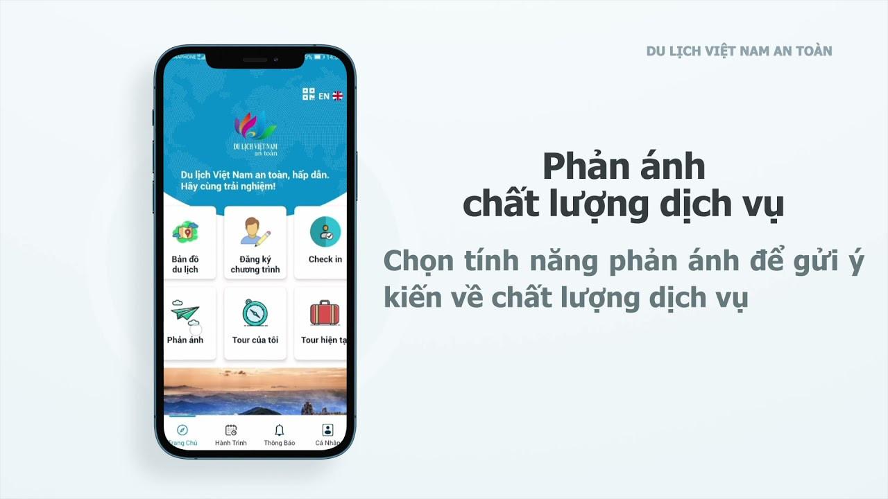 Ứng dụng Du lịch Việt Nam an toàn – Công cụ đồng hành với khách du lịch trong bối cảnh bình thường mới