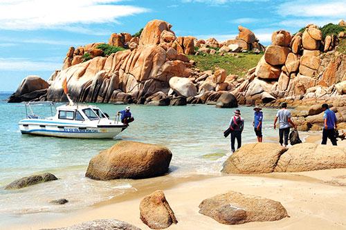 Bình Thuận: Phát triển du lịch trong các khu bảo tồn biển