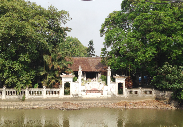 Hà Nội: Tái sử dụng vật liệu khi tu bổ, tôn tạo đình Phú Lương