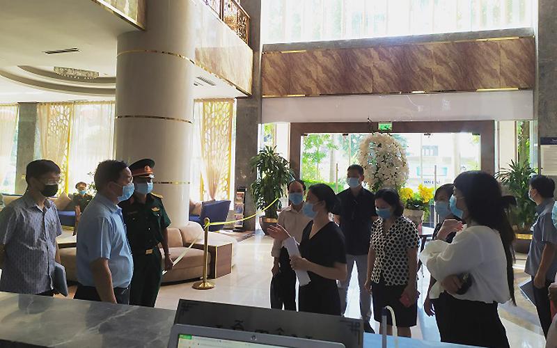 Phòng, chống dịch Covid-19 nghiêm ngặt các khách sạn cách ly người nhập cảnh