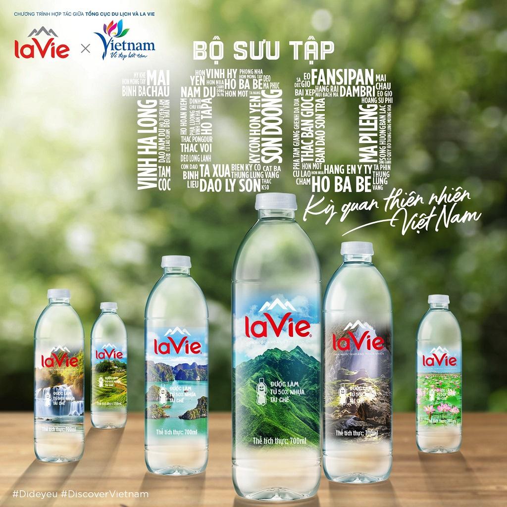 """Tổng cục Du lịch phối hợp với La Vie ra mắt bộ sưu tập sản phẩm có chủ đề """"100 kỳ quan thiên nhiên Việt Nam"""""""
