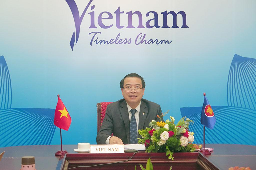 Thúc đẩy hợp tác du lịch ASEAN+3 trong ứng phó dịch bệnh, phục hồi du lịch và tạo đà tăng trưởng
