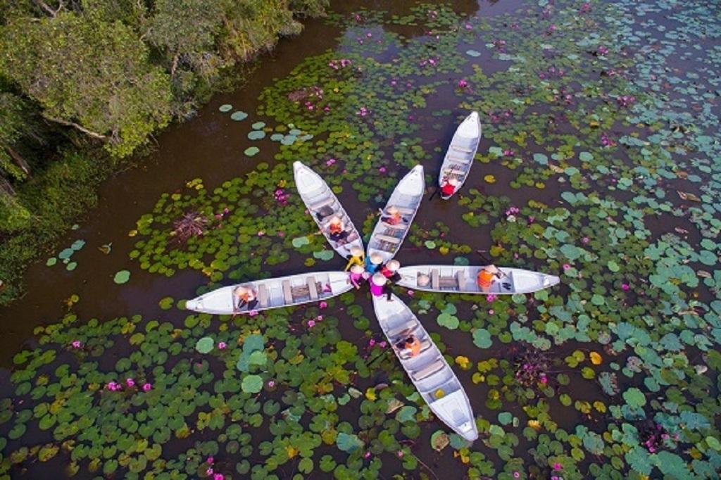 Cụm phía Ðông Ðồng bằng sông Cửu Long đón gần 2,6 triệu lượt du khách trong 6 tháng đầu năm