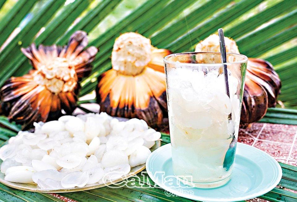 Thân thương cây dừa nước
