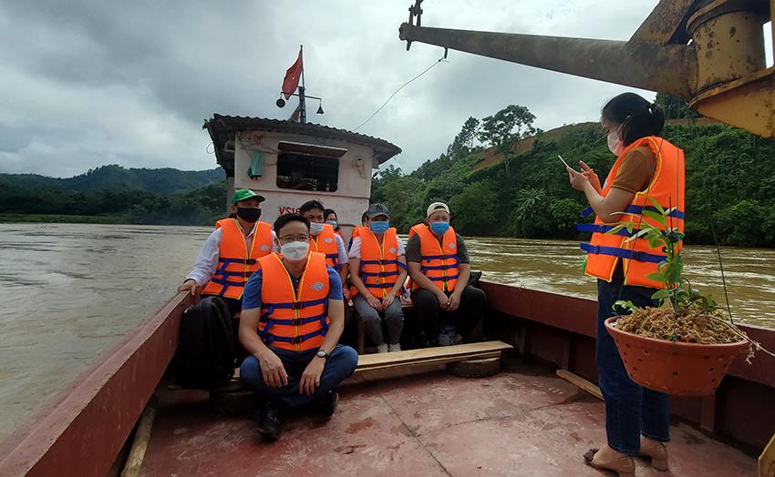 Lào Cai: Khảo sát tour du lịch tâm linh dọc sông Hồng